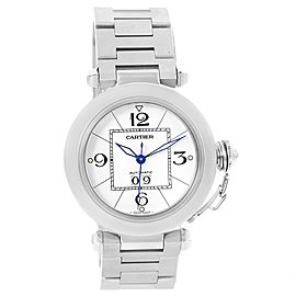 Cartier Pasha C W31055M7 35mm Mens Watch