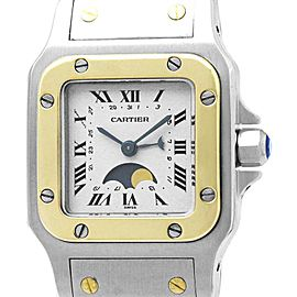Cartier Santos 119902 24mm x 34.5mm Womens Watch