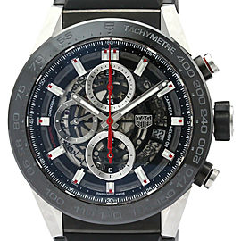 TAG HEUER Carrera Calibre Heuer 01 Steel Mens Watch CAR2A1Z