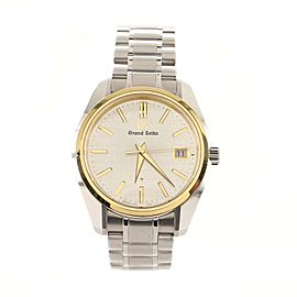 Grand Seiko 25th Anniversary Memorial Limited Edition Quartz Watch Stainless Steel 40