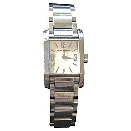 Baume & Mercier Diamant Stainless Steel Quartz 22mm Womens Watch