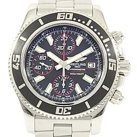 Breitling Super Ocean A13341 Stainless Steel 44mm Mens Watch