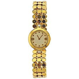 Harry Winston Diamond Gold Ladies Watch