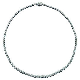 Tiffany & Co. Victoria Riviera Platinum & Diamond Necklace