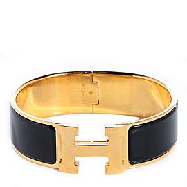 Hermes Enamel Wide Clic Clac H Bracelet