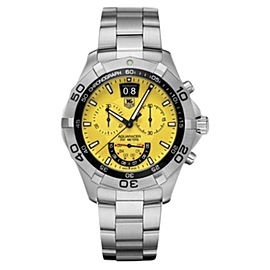 Tag Heuer Aquaracer CAF101D.BA0821 Quartz Stainless Steel 43mm Unisex Watch