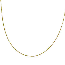 Tiffany & Co. Paloma Picasso 18K Yellow Gold Necklace
