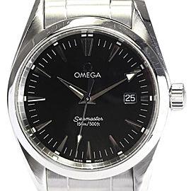Omega Seamaster Aqua Terra 2518.50 Stainless Steel Quartz 36mm Mens Watch