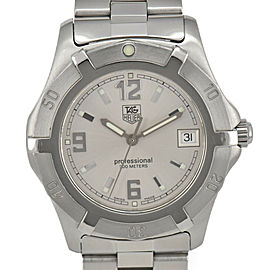TAG HEUER Exclusive WN1113 Silver Dial Quartz Men's Watch