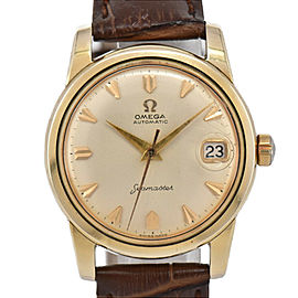 OMEGA Seamaster GP/Leather Cal.503 Automatic Men's Watch