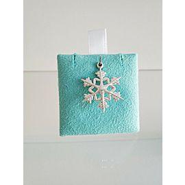 Tiffany & Co. Sterling Silver Snowflake Pendant