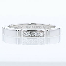 CARTIER 18k white Gold/diamond Mailon PANTHERE Ring