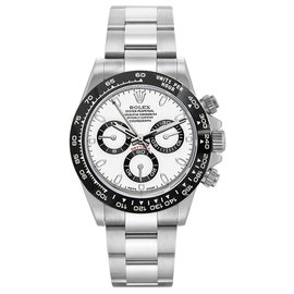 Rolex Daytona 116520 Stainless Steel & White Dial 40mm Mens Watch