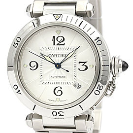 CARTIER W31031H3 Pasha 38 Stainless Steel Automatic Watch