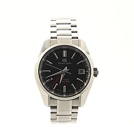 Grand Seiko Hi-Beat GMT Heritage Automatic Watch Stainless Steel 40