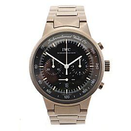 IWC Schaffhausen GST Chronograph Quartz Watch Titanium 37