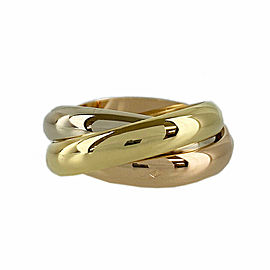 CARTIER 18k Gold Trinity ring CHAT-997