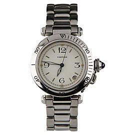 Cartier Pasha Date 2324 35mm Unisex Watch