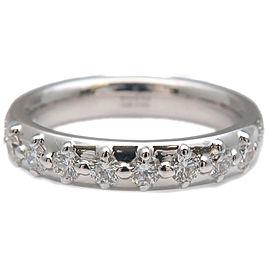 GUCCI Diamantissima 8P Diamond Ring White Gold US4-4.5 EU47