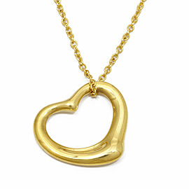 TIFFANY & Co. 18k yellow Gold Heart Necklace