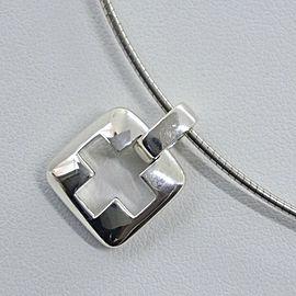 TIFFANY&Co Silver925 cross choker