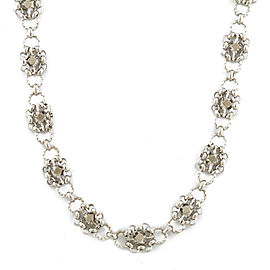 Platinum Silver Necklace CHAT-539