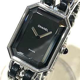 CHANEL H0451 Stainless Steel x Leather Premiere Wrist watch