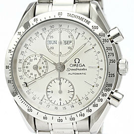 OMEGA Speedmaster Triple Date Steel Automatic Watch #HK-376