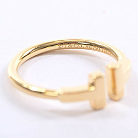 TIFFANY & Co. 18k Yellow gold T wire Ring