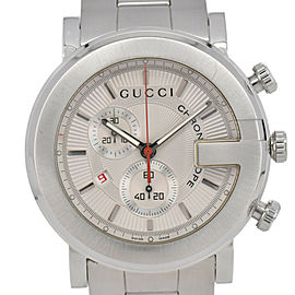 Gucci 101M YA101339 Chronograph Silver Dial Quartz Men's Watch