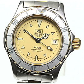 TAG HEUER Stainless Steel/Gold Plated 2000 Series Watch RCB-84