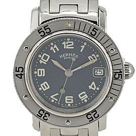 HERMES Clipper diver CL5.210 blue Dial Quartz Ladies Watch