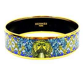 Hermes Cloisonne Bangle Bracelet