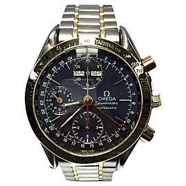 Omega Speedmaster 18K Yellow Gold & Stainless Steel 39mm Watch