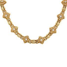 DeMerini 18k Yellow Gold Diamond Bracelet