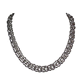 Alberto Juan Sterling Silver Hand Made Chain Necklace