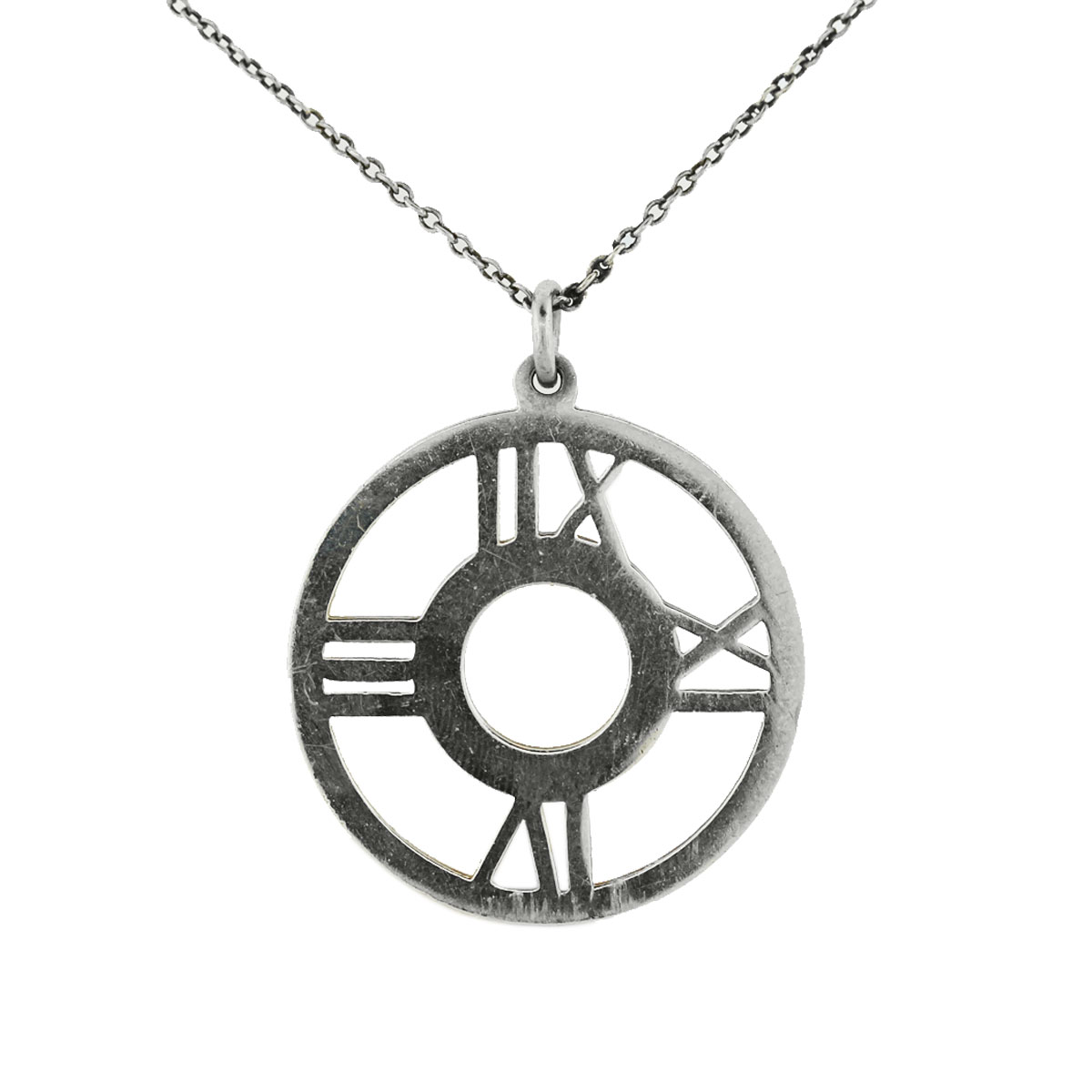 tiffany silver sterling truefacet atlas pendant buy at co
