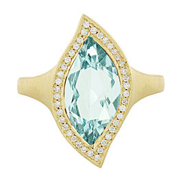 Carelle Leaf Ring North South Size: 7