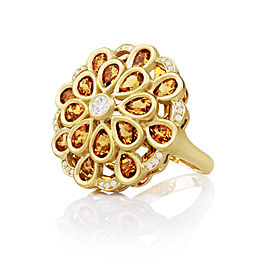 Carelle Marigold Ring Size: 7.5
