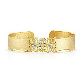 I. Reiss BIR410Y 14k Yellow Gold diamonds0.06 H-SI Diamonds Bracelet