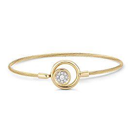 I.Reiss 14K Yellow Gold 0.2 Diamond Bracelet