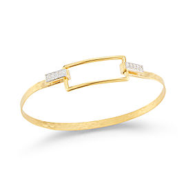 I.Reiss 14K Yellow Gold 0.16 Diamond Bracelet