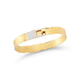 I.Reiss 14K Yellow Gold 0.4 Diamond Bracelet
