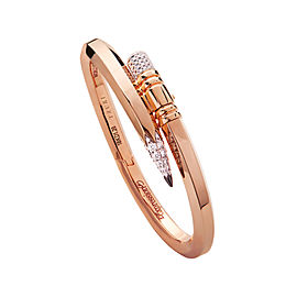 TZURI Rose Gold Large Signature Bracelet