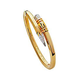 TZURI Yellow Gold Medium Signature Bracelet