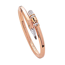 TZURI Rose Gold Medium Signature X2 Bracelet
