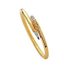TZURI Yellow Gold Small Signature Bracelet