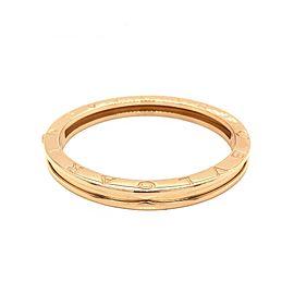 Bulgari 18k Yellow Gold Heavy B.Zero 1 Bracelet