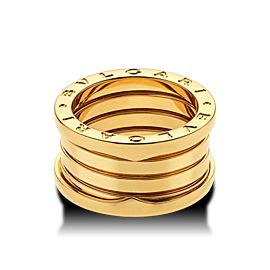 Bvlgari Bulgari B. Zero 1 18K Yellow Gold 4 Band AN191025 Ring