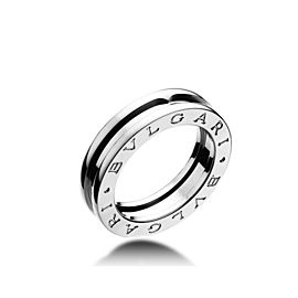Bvlgari Bulgari B. Zero 1 18K White Gold 1 Band Ring